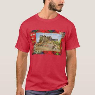 Vintage Scotland, Robertson tartan T-Shirt