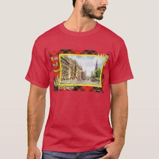 Vintage Scotland, Wallace tartan T-Shirt