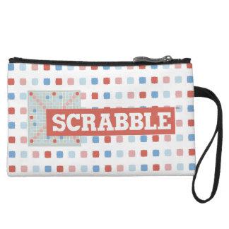 Vintage Scrabble Logo Wristlet Purses