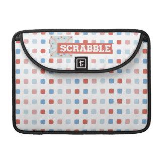 Vintage Scrabble Logo Sleeve For MacBooks