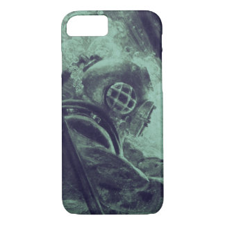 Vintage Scuba Diver Industrial Welding Underwater iPhone 7 Case