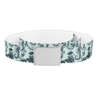 Vintage Sea Animal Pattern Belt