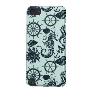 Vintage Sea Animal Pattern iPod Touch (5th Generation) Cover