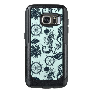 Vintage Sea Animal Pattern OtterBox Samsung Galaxy S7 Case