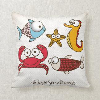 Ocean Animal Pillows : Sea Animal Cushions - Sea Animal Scatter Cushions Zazzle.co.uk