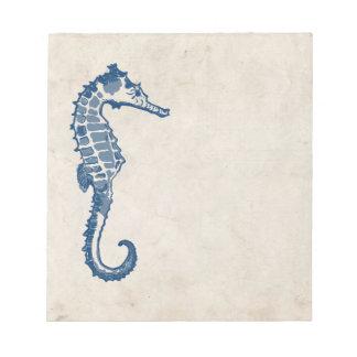 Vintage Sea Horse Notepad