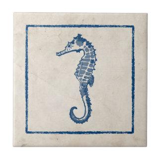 Vintage Sea Horse Tile