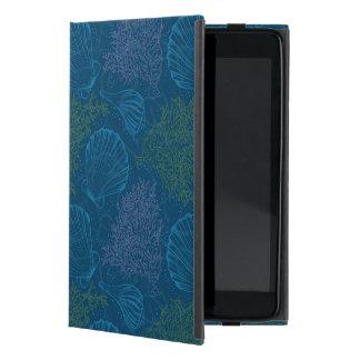 Vintage Sea Pattern iPad Mini Covers