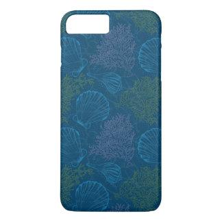 Vintage Sea Pattern iPhone 8 Plus/7 Plus Case