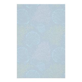 Vintage Sea Pattern Stationery