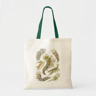 Vintage Sea Slugs and Snails by Ernst Haeckel Tote Bag