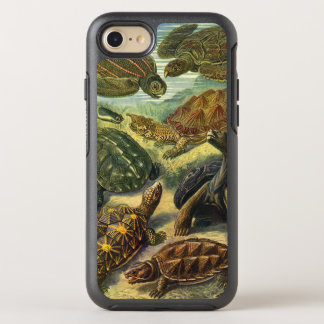 Vintage Sea Turtles and Tortoises by Ernst Haeckel OtterBox Symmetry iPhone 7 Case