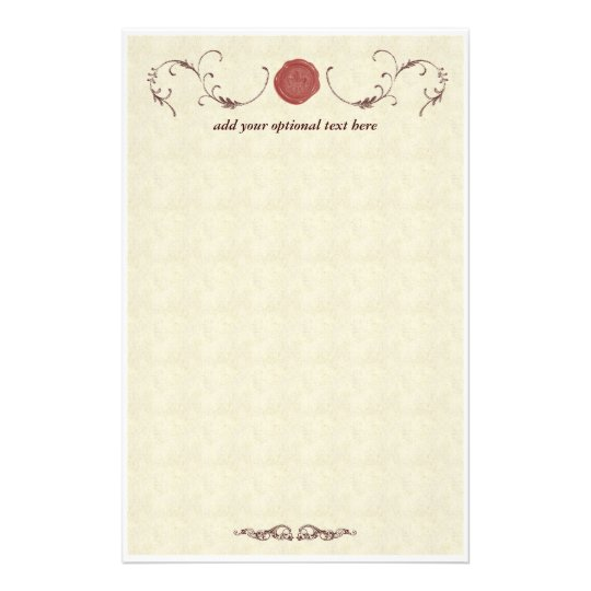 Vintage Sealing Wax Stationery