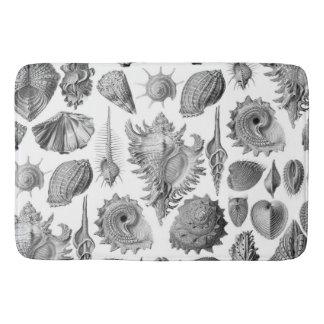 Vintage Seashells Bath Mat