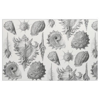 Vintage Seashells Fabric
