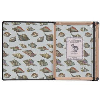 Vintage Seashells iPad Covers