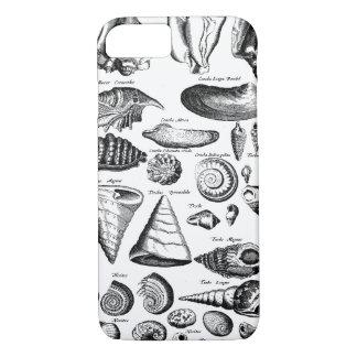 Vintage Seashells iPhone 7 Case