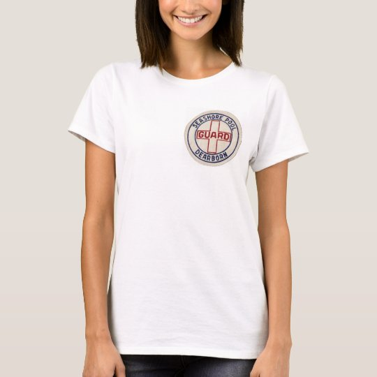 Vintage Seashore Pool - Lifeguard Apparel - T-Shirt