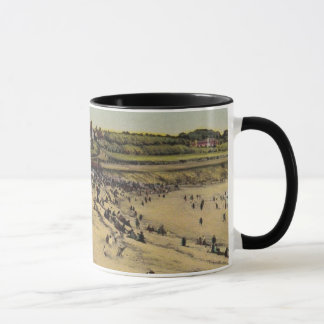 Vintage seaside mug