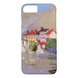 Vintage Seaside Village Italy Tourism iPhone 7 Case