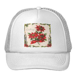 Vintage Season's Greetings Hat