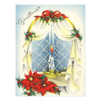 Vintage Season's Greetings Postcard