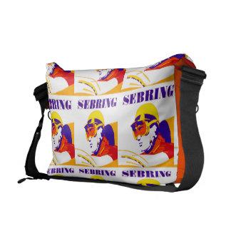 Vintage Sebring Messenger Bag