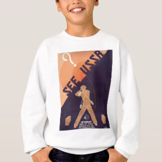 Vintage See USSR Travel Sweatshirt