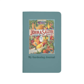 Vintage Seed Catalog Gardening Personal Journal