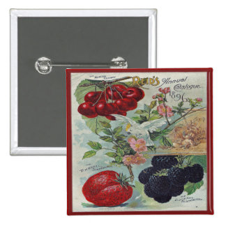 vintage seed catalog pin