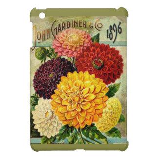 Vintage Seed Packet Floral - iPad mini case