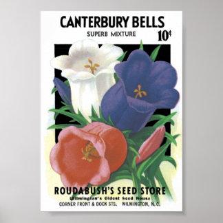 Vintage Seed Packet Poster