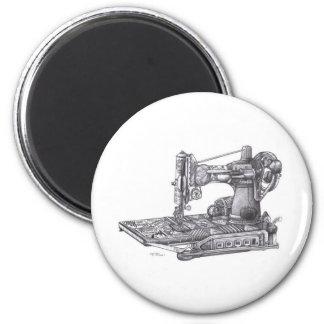 Vintage Sewing Machine Magnet