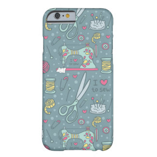 Vintage Sewing Machine Notions Barely There iPhone 6 Case