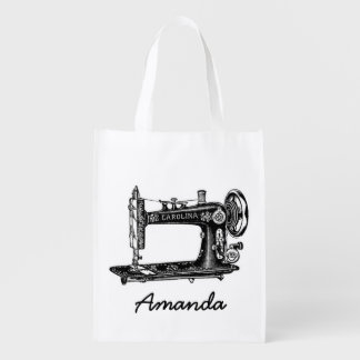 Vintage Sewing Machine Personalized