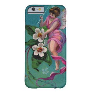 Vintage Sewing Needle Flower Fairy Barely There iPhone 6 Case