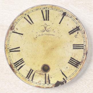 Vintage Shabby Chic Wall Clock Coaster