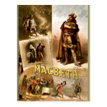 Vintage - Shakespeare's Macbeth, 1884 Postcards