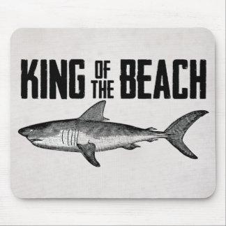 Vintage Shark Beach King Mouse Mat