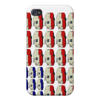 Vintage Shasta Trailer American Flag iPhone Case Case For iPhone 4