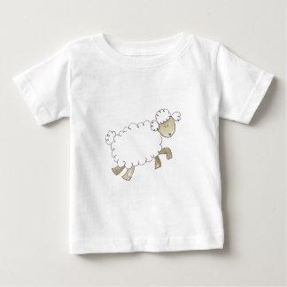 Vintage Sheep by Serena Bowman funny farm animals Baby T-Shirt
