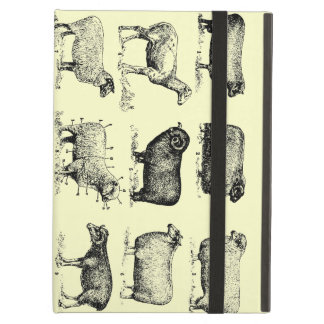 Vintage Sheep Cover For iPad Air