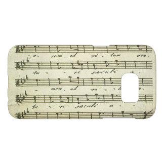 Vintage Sheet Music, Antique Musical Score 1810