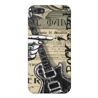 Vintage Sheet Music Rock N Roll Case For The iPhone 5