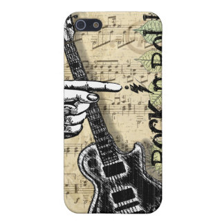 Vintage Sheet Music Rock N Roll Cover For iPhone 5/5S