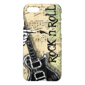 Vintage Sheet Music Rock N Roll iPhone 7 Case