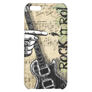 Vintage Sheet Music Rock N Roll iPhone 5C Cover
