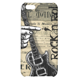 Vintage Sheet Music Rock N Roll Cover For iPhone 5C