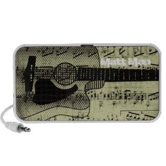 Vintage Sheet Music Rock N Roll iPod Speaker