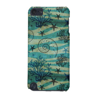Vintage Shells And Starfish Pattern iPod Touch (5th Generation) Cases